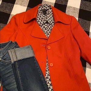 Women's Orange Blazer